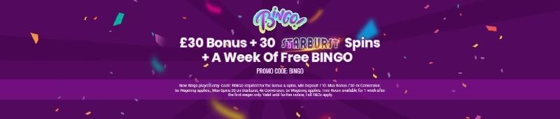 Monster Casino bingo bonus