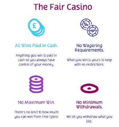 PlayOjo the fair casino