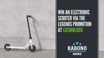 Win an Electronic Scooter at CasinoLuck