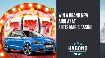 Win a brand new Audi A1 at Slots Magic Casino