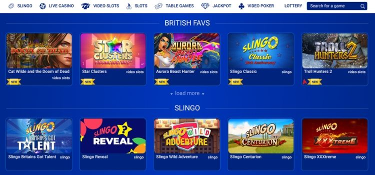All British Casino - Game Selection-1