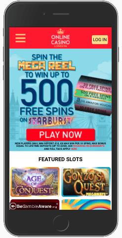 Online Casino London Mobile Casino