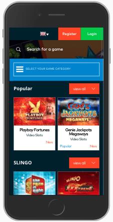 fun casino mobile screenshot