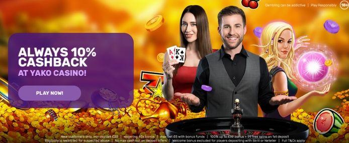 Yako Casino Cashback