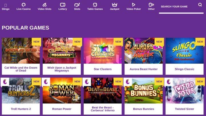 Yako Casino Game Selection