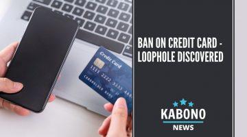 ban on credit card loophole