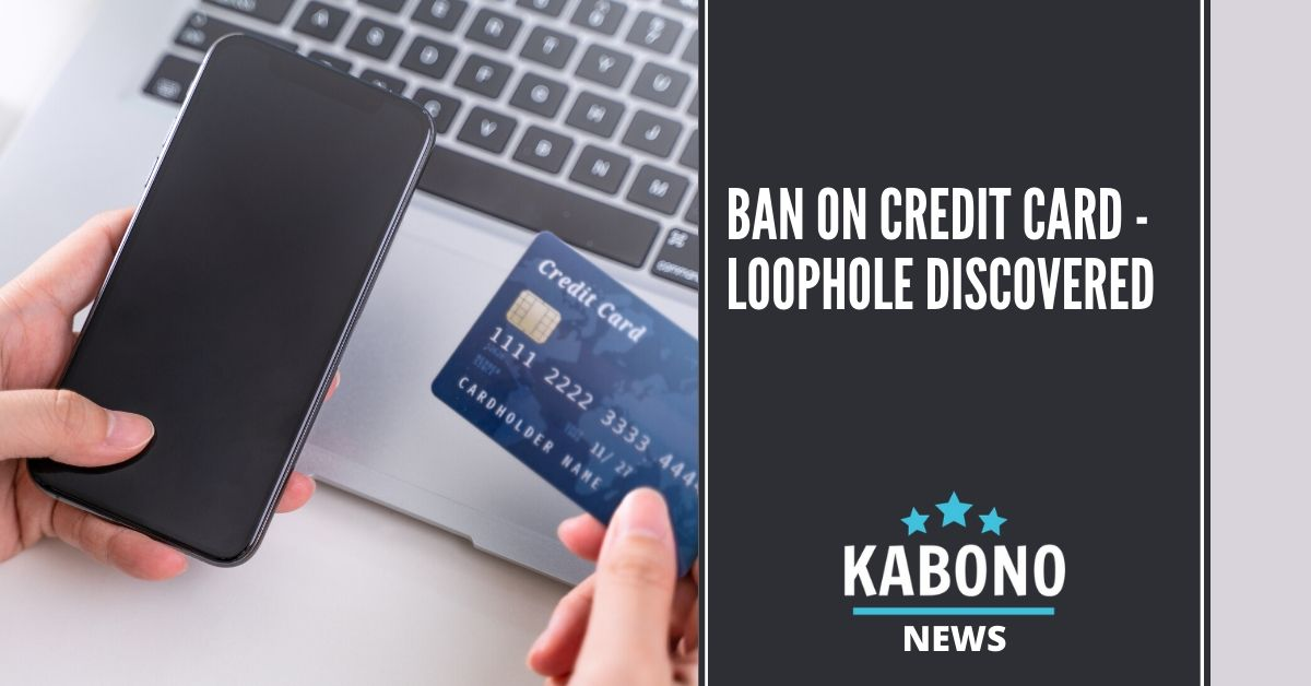 ban on credit card loophole