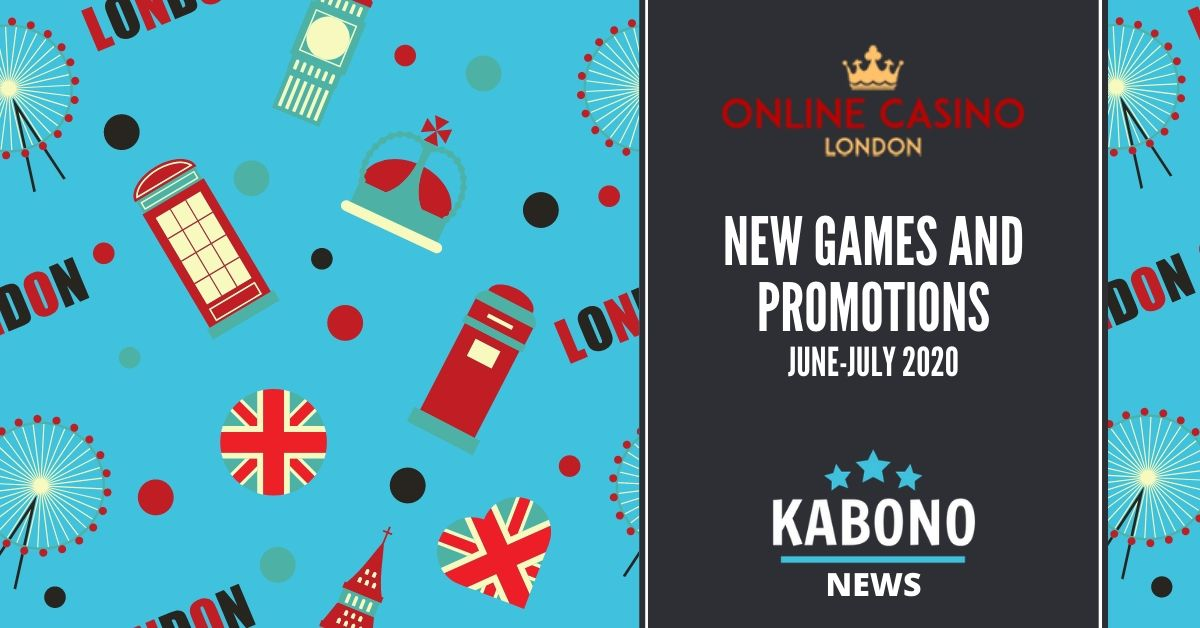online casino London new games and promotions