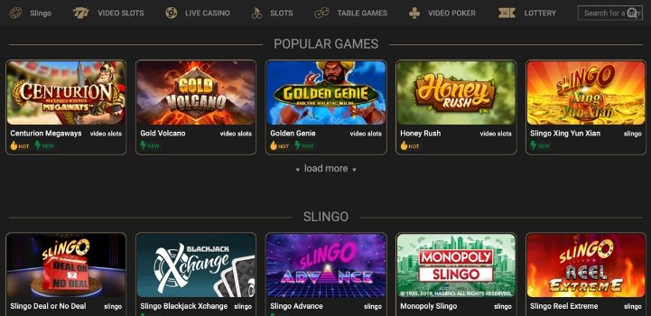 CasinoCasino Game Selection