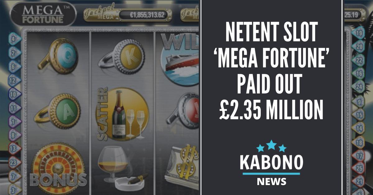 Mega Fortune 2.35 million