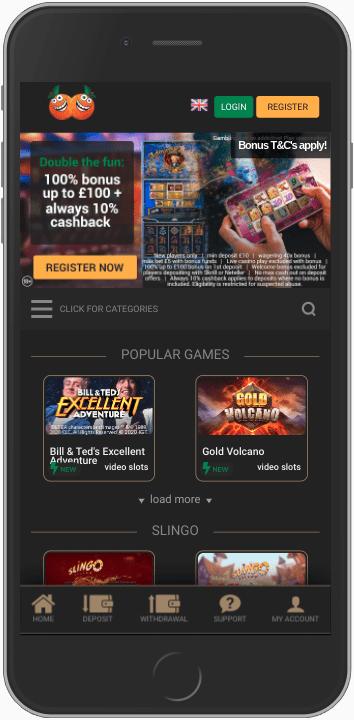casino casino on mobile
