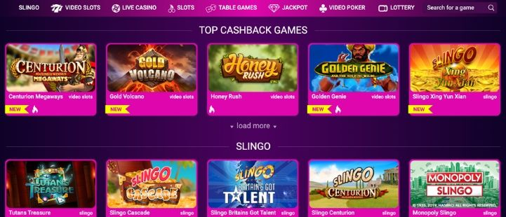 no bonus casino games