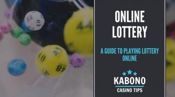 Online Lottery Header
