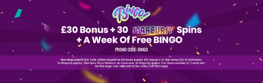 PlayUK Casino Bingo Offer