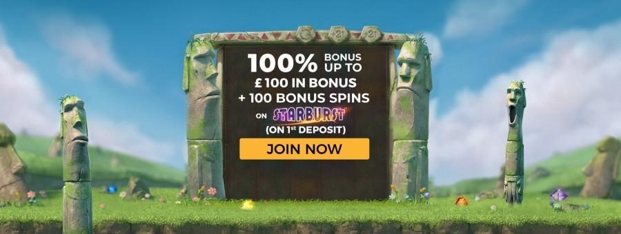 PlayUK Casino Welcome Bonus