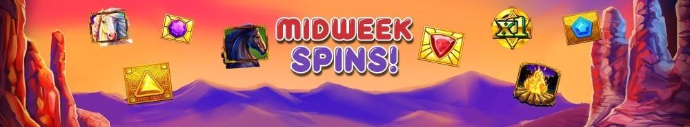 Plush Casino Midweek Spins