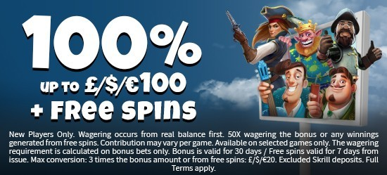 Schmitts Casino - 100% bonus