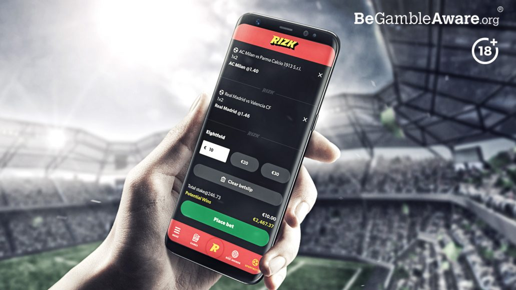 Rizk Sportsbook mobile