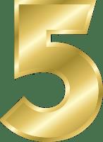 golden number five