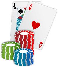 playing cards and poker chips at uk casinos