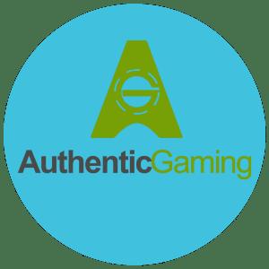 Round Authentic Gaming Logo
