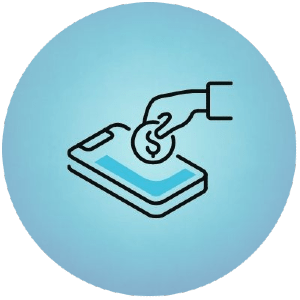 Round Pay by Phone Logo