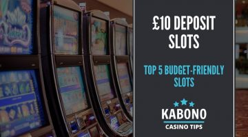 £10 deposit slots featured image
