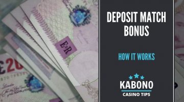 Deposit Match Bonus Featured Image