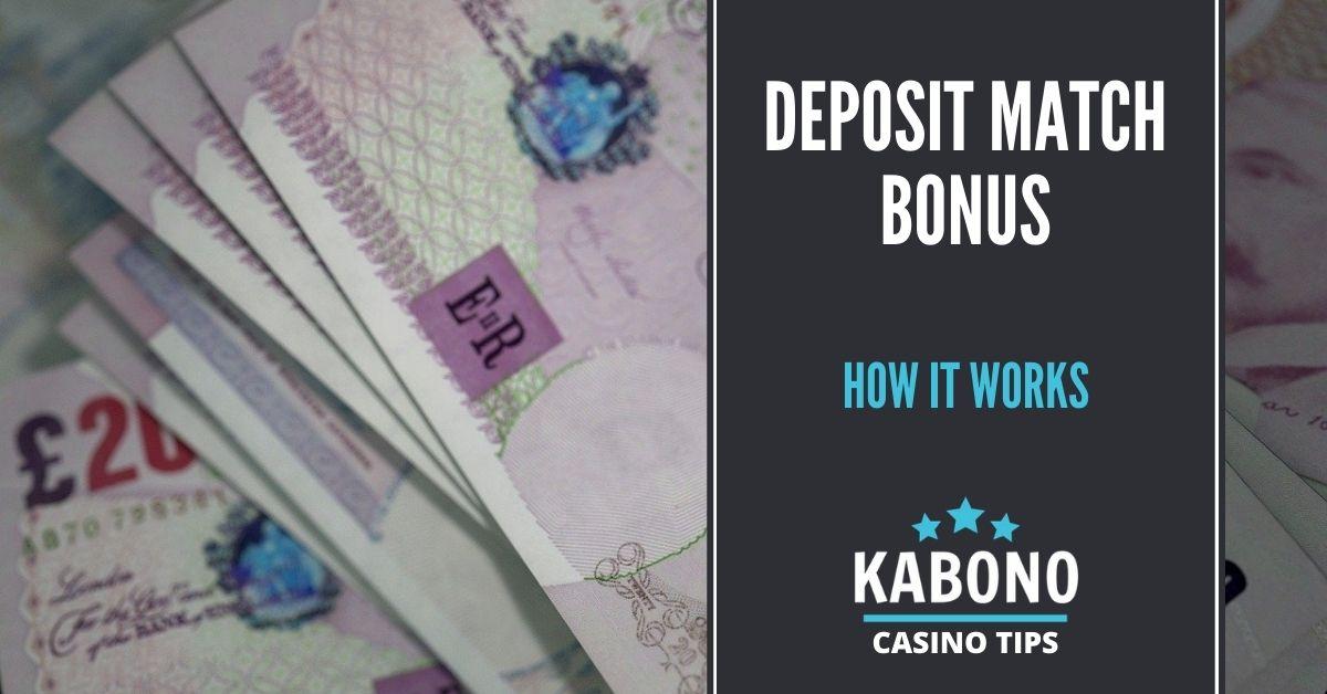 Deposit Match Bonus Featured Image