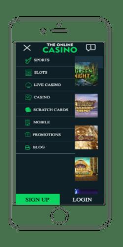 theonlinecasino mobile casino phone