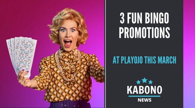3 Fun Bingo Promotions