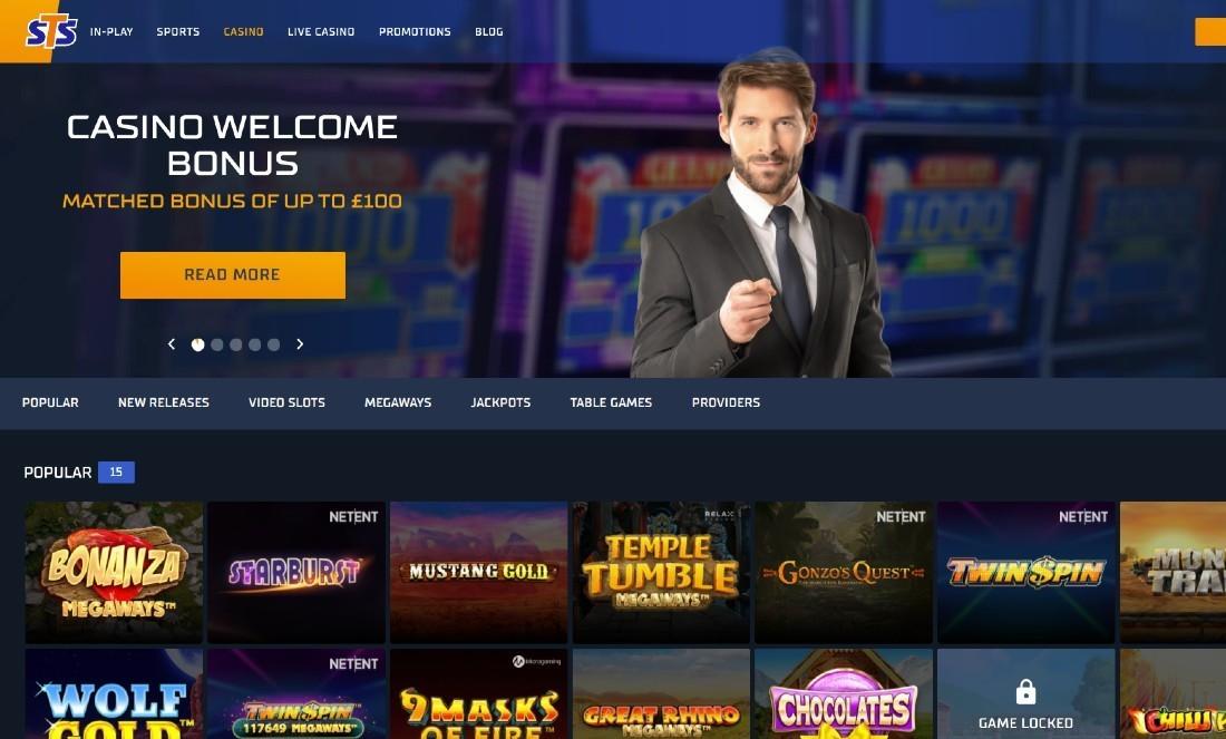 STS Casino screenshot