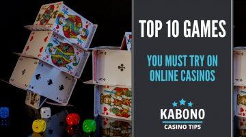Top 10 Games in Online Casinos