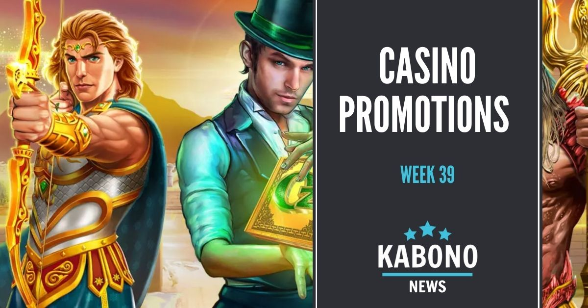 Kabono news, casino promotions week 39 cover photo