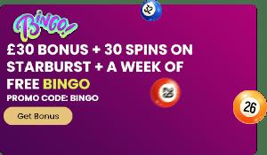 Jackpot Mobile Casino bingo offer