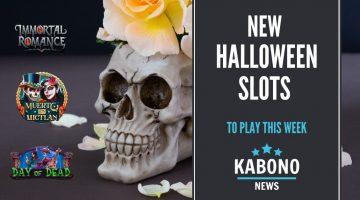 Halloween slots artwork
